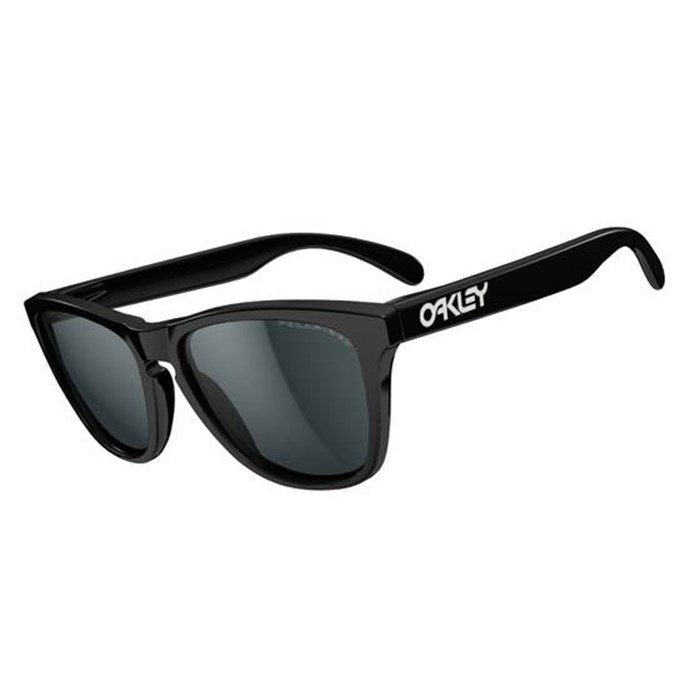 are all oakley frogskins polarized