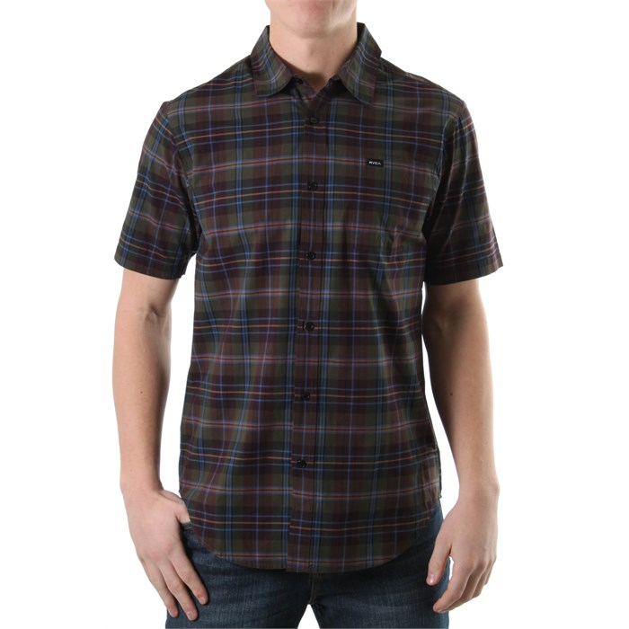 RVCA - Dexter Plaid Button Down