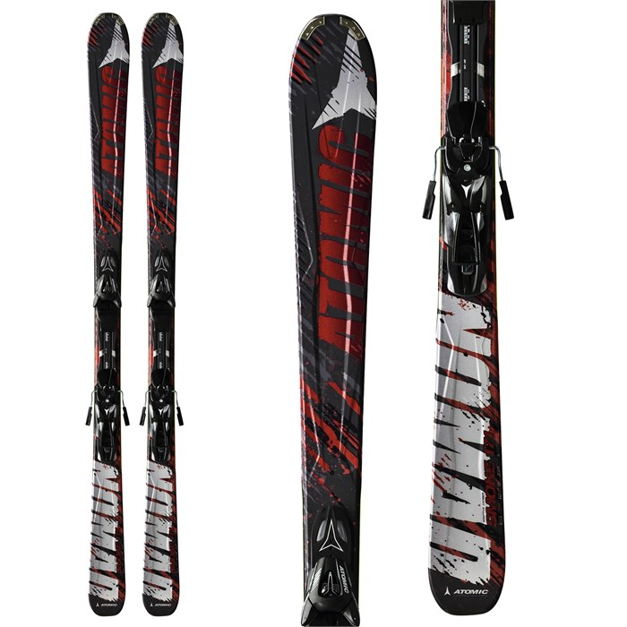 Atomic - Smoke Skis + XTO 10 Bindings 2012