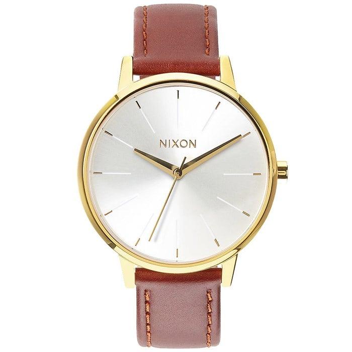 Nixon - The Kensington Leather Watch - Women's