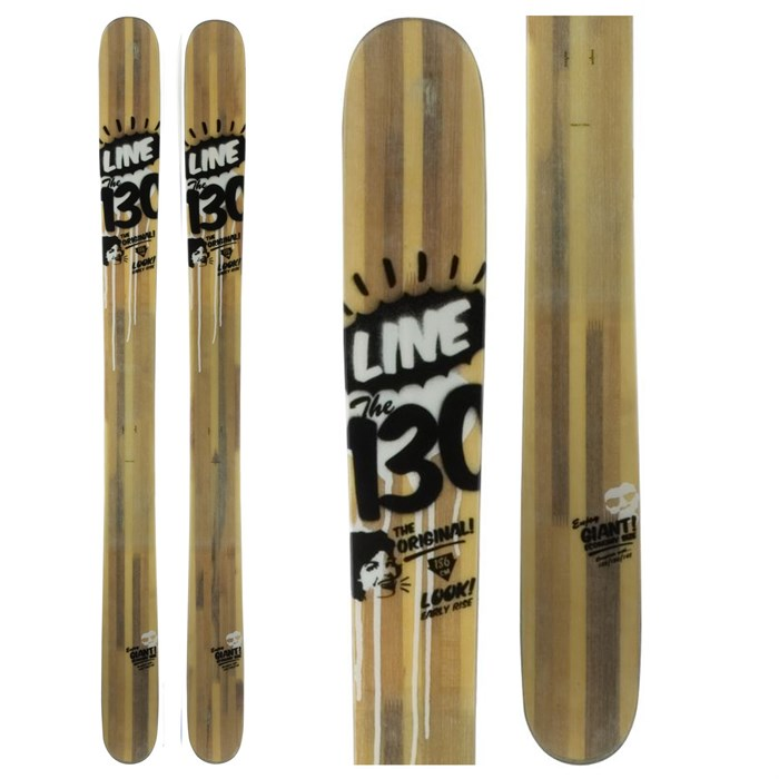 Line Skis - The 130 Skis 2012