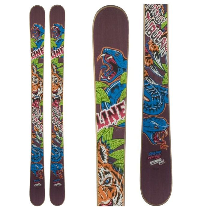 Line Skis - Afterbang Shorty Skis 2012