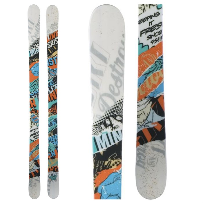 Line Skis - Super Hero Skis - Boys 2012