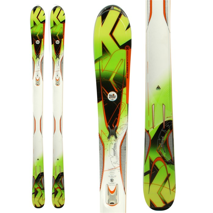 K2 - A.M.P. Rictor Skis 2012