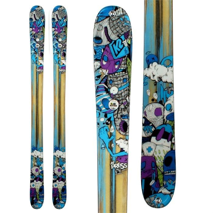 K2 - Press Skis 2012