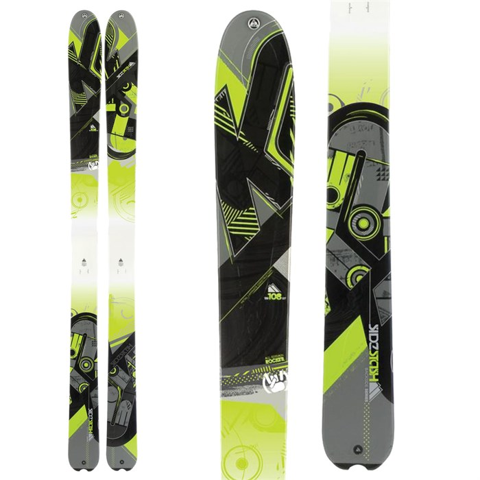 K2 - SideStash Skis 2012