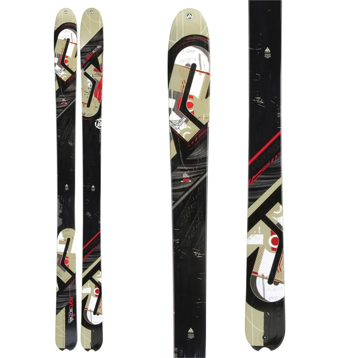 K2 - HardSide Skis 2012