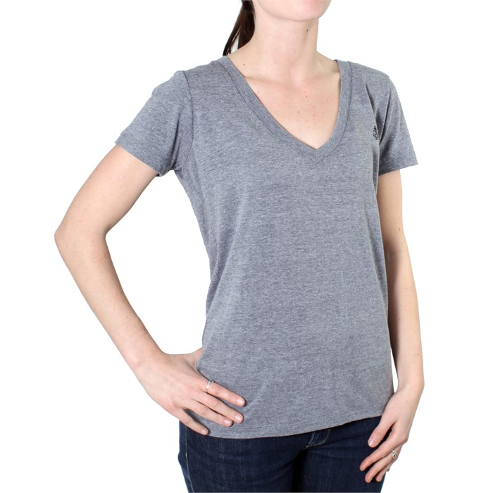 Brixton - Pendant V Neck T Shirt - Women's