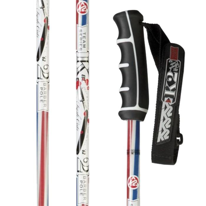 K2 - Barber Pole Ski Poles 2012