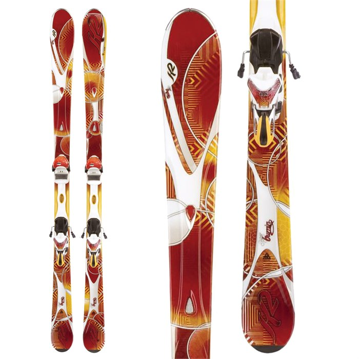 K2 - SuperBurnin Skis + Marker ERS 11.0 TC Bindings - Women's 2012