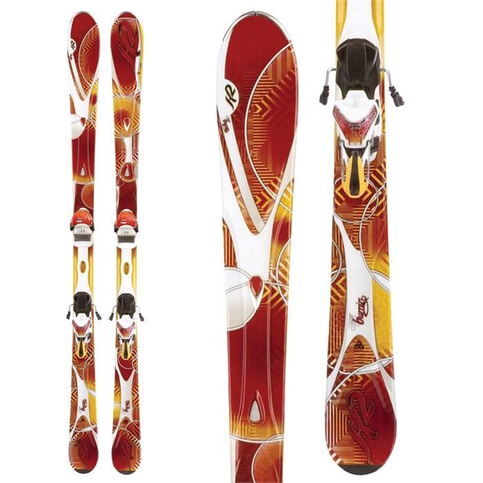 K2 - SuperBurnin Skis + Marker ERS 11.0 TC Bindings - Women's 2012