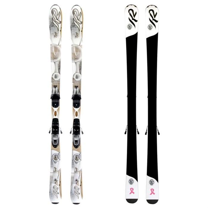 K2 - SuperSmooth Skis + Marker ERP 10.0 Bindings - Women's  2012