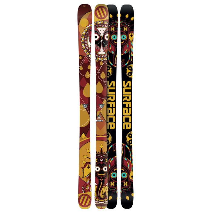 Surface - Anthony B Double Time Skis 2012
