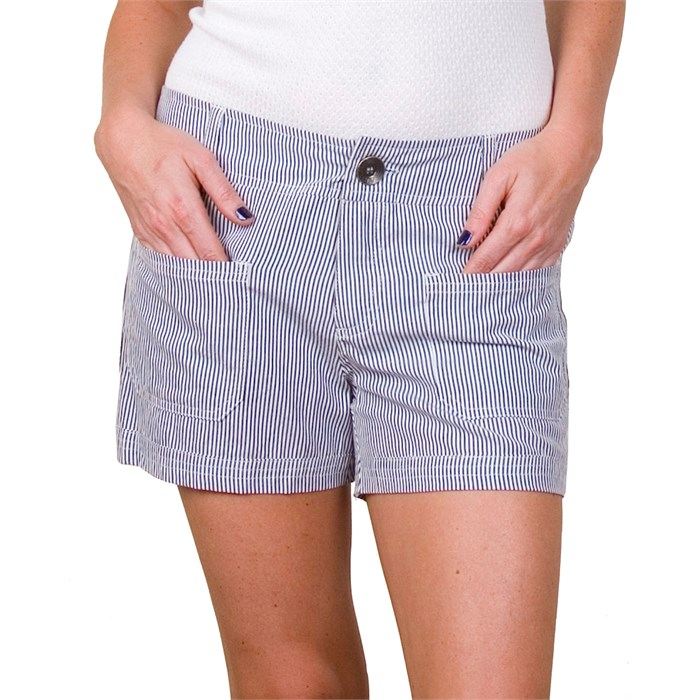 Arbor - Railroad Bamboo Shorts - Womens