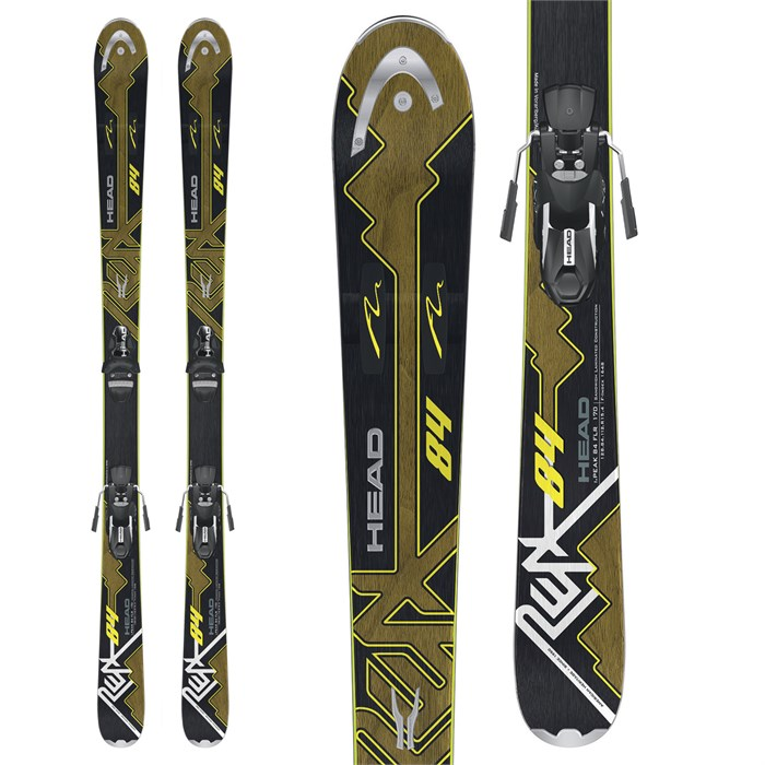 Head - i.Peak 84 Skis + LX12 Bindings 2012