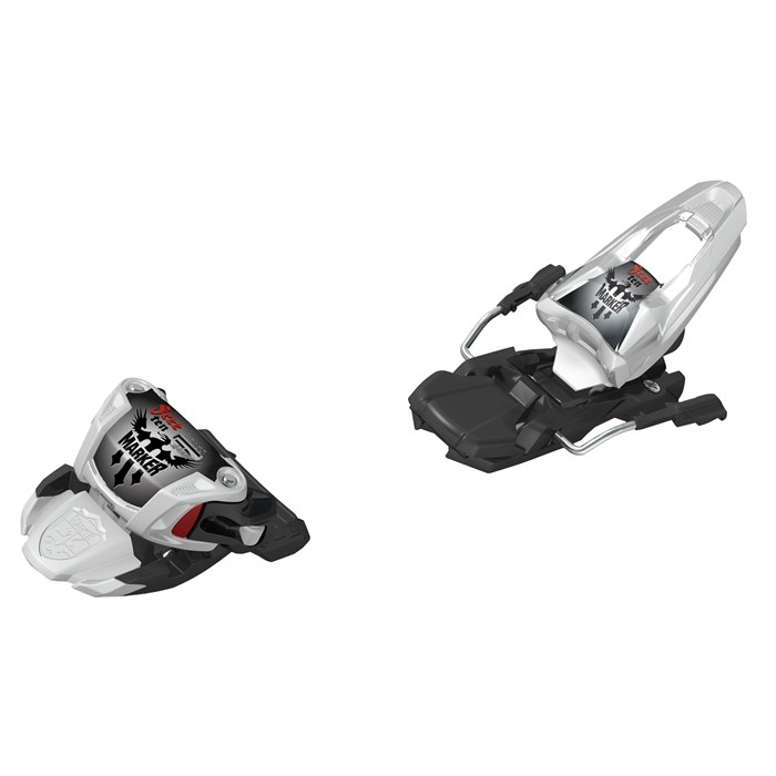 Marker - Free Ten Ski Bindings (100mm Brakes) 2012