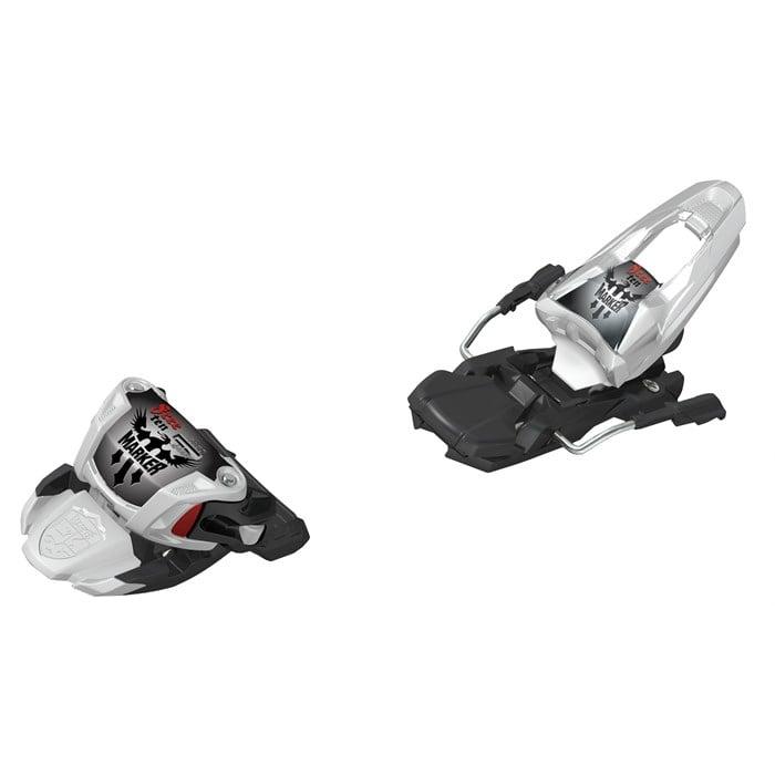 Marker - Free Ten Ski Bindings (100mm Brakes) 2012