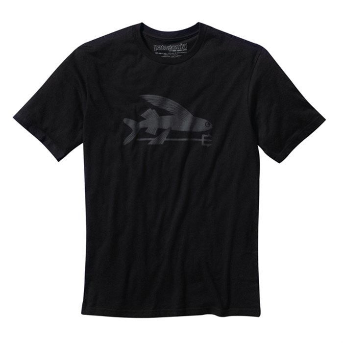 Patagonia flying fish t shirt evo outlet for Patagonia fishing shirt