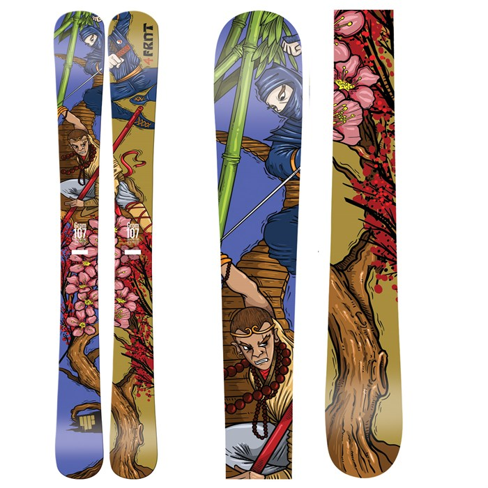 4FRNT - Grom Skis - Youth 2012