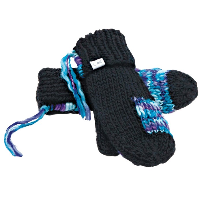 Coal - The Sierra Mittens - Women's