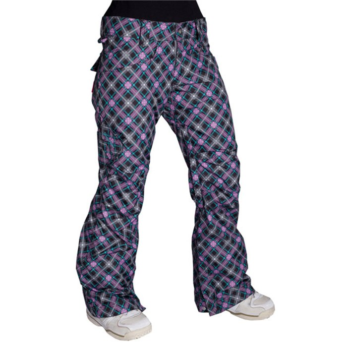 Betty Rides - Betty Rides Lucky Plaid Rocker Pants - Women's