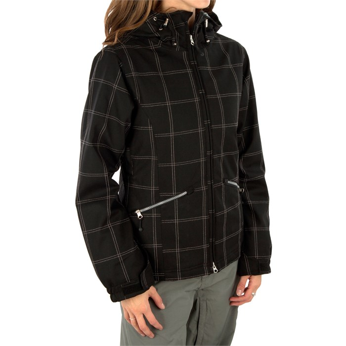 Betty Rides - Window Pane II Nicole Parka - Women's