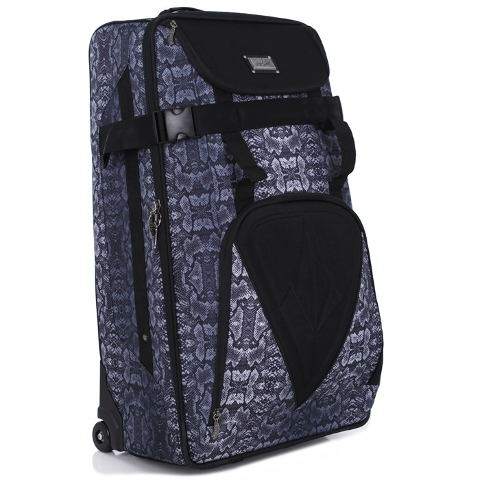 Volcom - Snakestone Check In Roller Bag - Women's