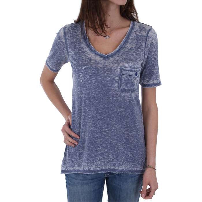 Volcom - Wickd Short Sleeve V Neck T Shirt - Women's