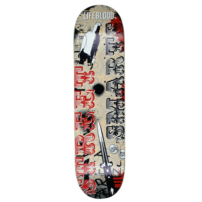 Lifeblood - Lifeblood Street Smarts Skateboard