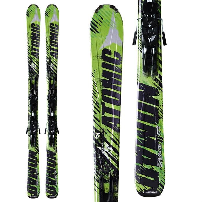 Atomic Savage Ti Skis + XTO 14 Bindings 2012