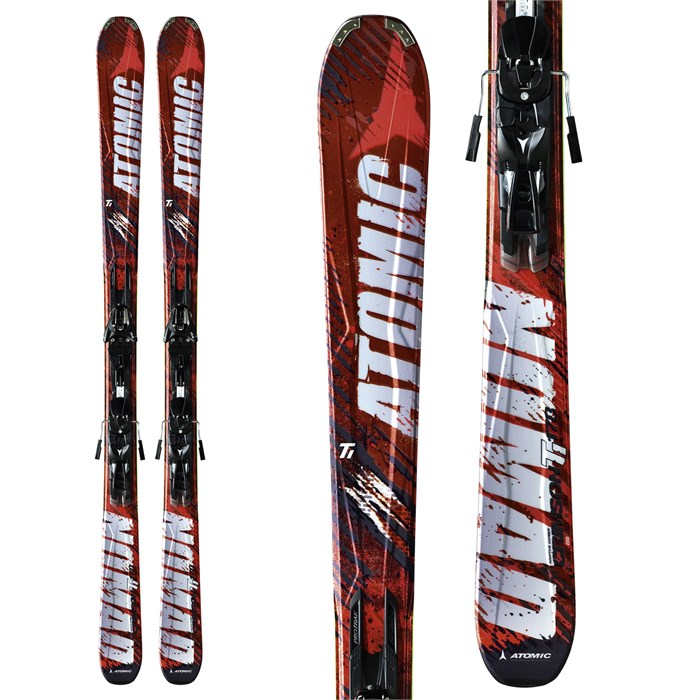 Atomic - Crimson Ti Skis + XTO 12 Bindings 2012