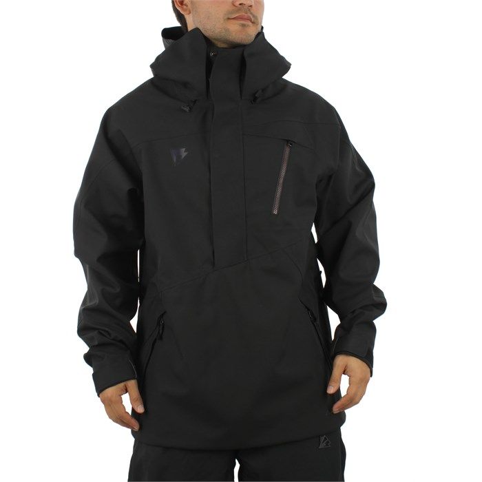 Homeschool Snowboarding - Night Witch Pullover Jacket