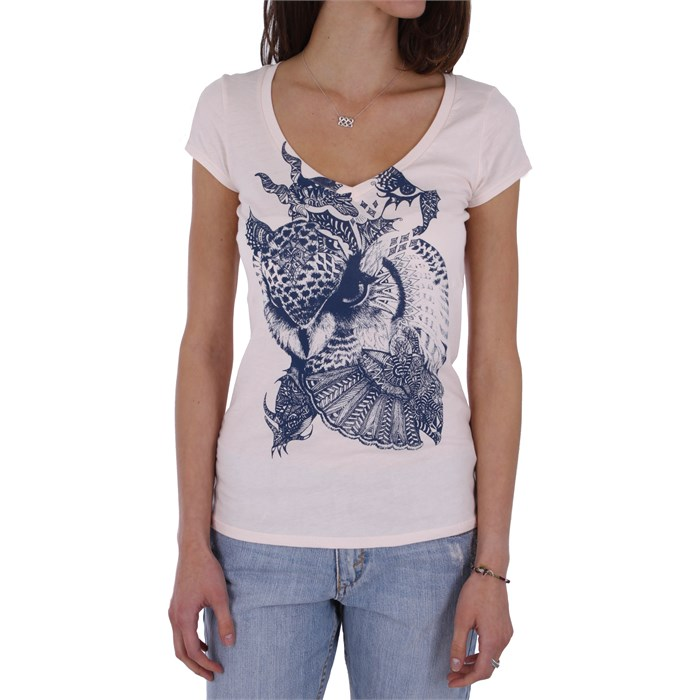 Volcom - Skullux F.A. Scoop V Neck T Shirt - Women's