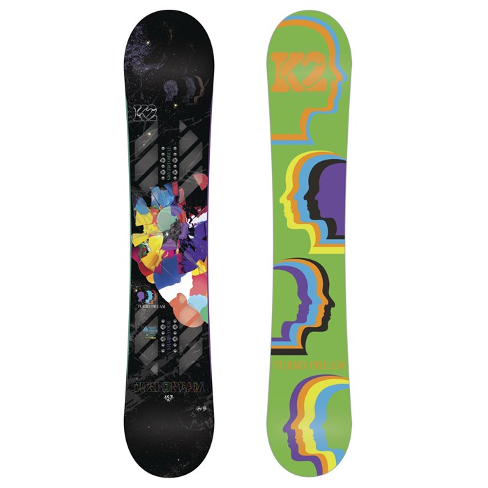 K2 - Turbo Dream Wide Snowboard 2012
