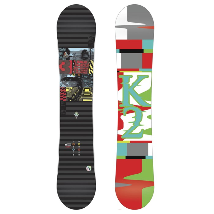 K2 - Lifelike Wide Snowboard 2012