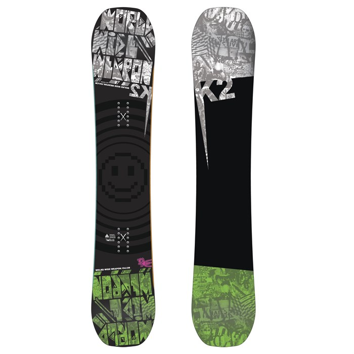 K2 - K2 WWW (World Wide Weapon) Rocker Wide Snowboard 2012