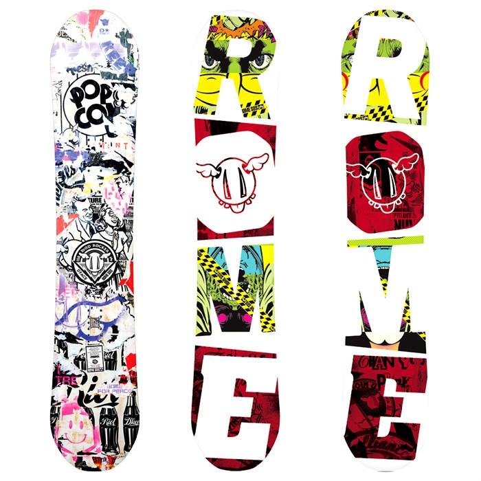 Rome - Mod Rocker Snowboard 2012