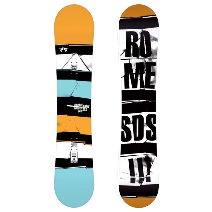 Rome - Garage Rocker Snowboard 2012