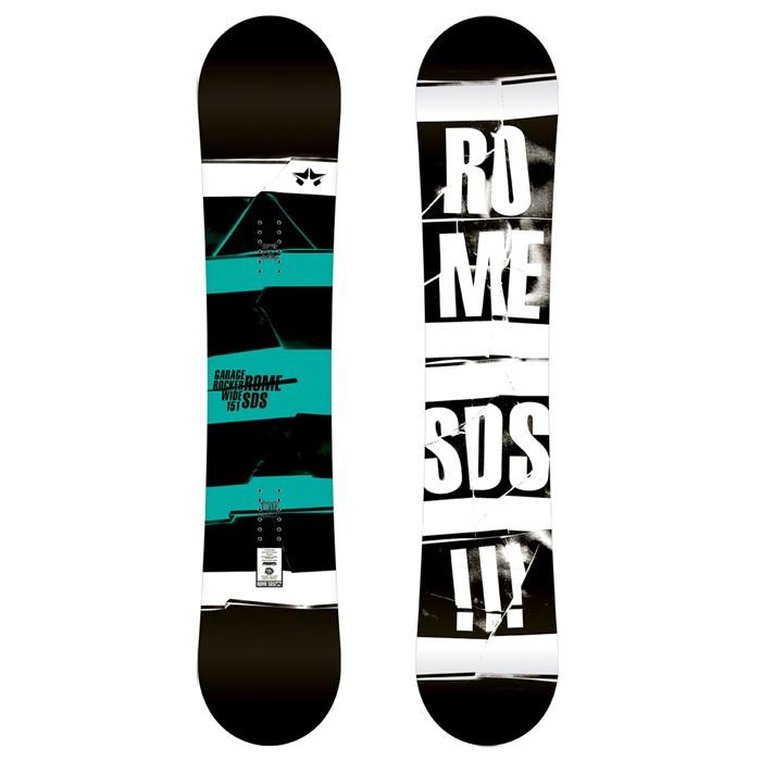 Rome Garage Rocker Wide Snowboard 2012 Evo