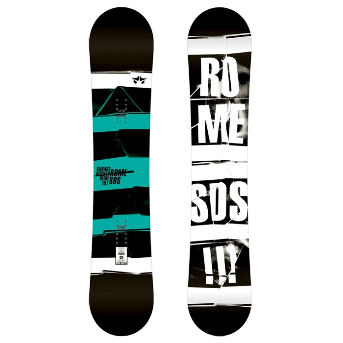 Rome - Garage Rocker Wide Snowboard 2012