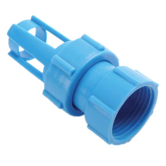 Straight Line - Traditional Valve Blue Adapter