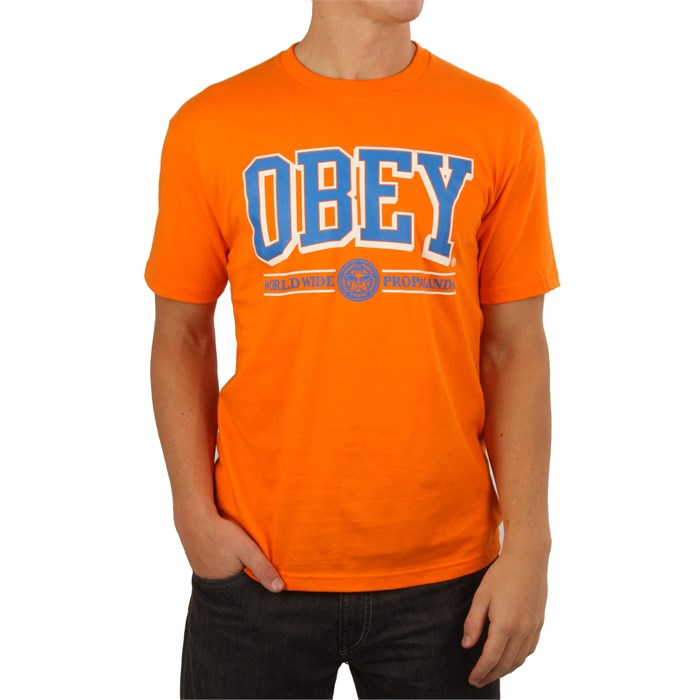 Obey Clothing - Athletics T Shirt