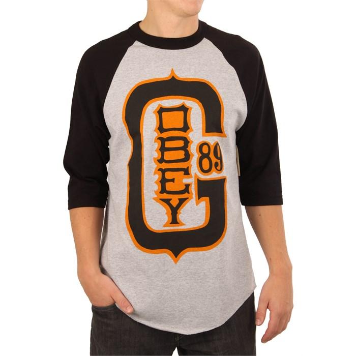 9ea406e3 Obey Clothing - Baseball Classic Baseball Shirt ...