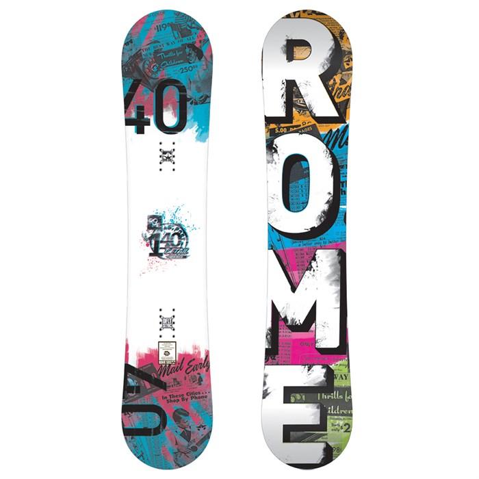 Rome - Detail Rocker Snowboard - Women's 2012