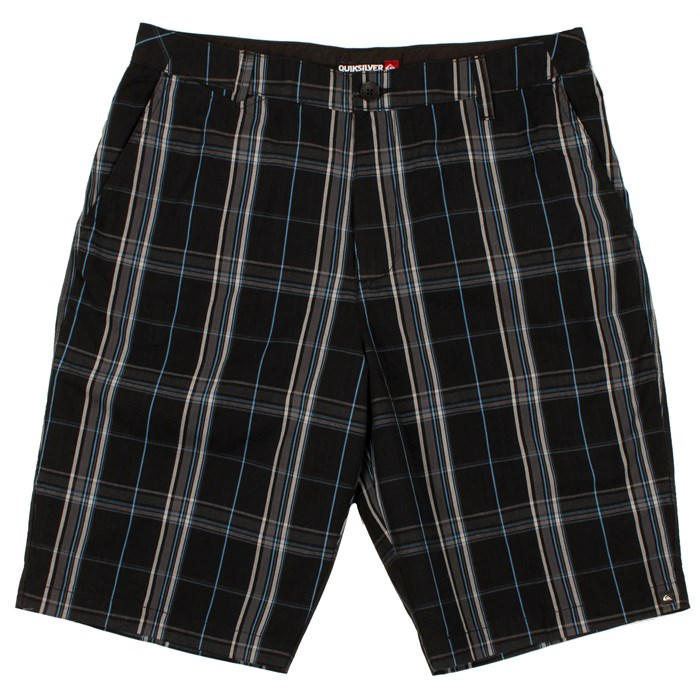 Quiksilver - Plaid Police Shorts