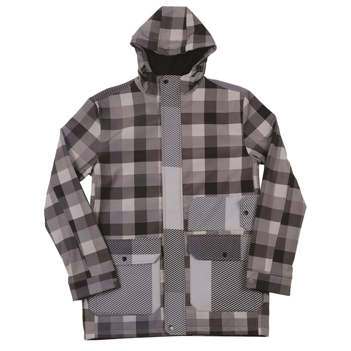 Neff - Rad Plaid Softshell Jacket