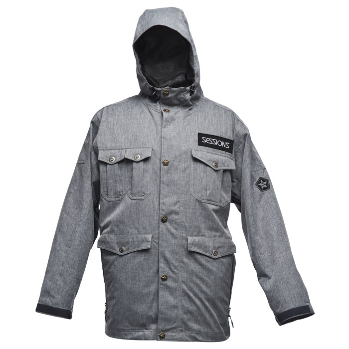 Sessions - Sessions Militia Heather Jacket