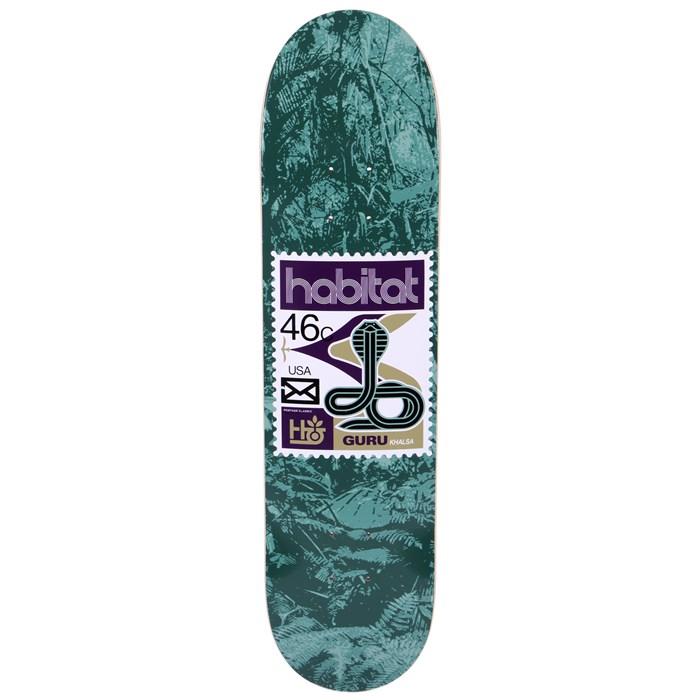 Habitat - Guru Khalsa Postage Redux Skateboard Deck