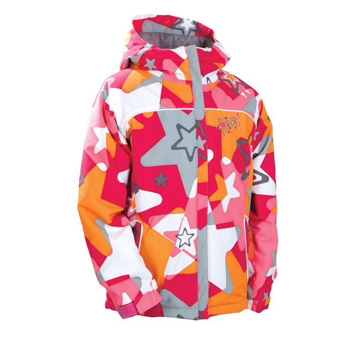 686 - Mannual Starburst Insulated Jacket - Girl's