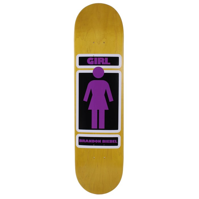 Girl - Brandon Biebel Woody Skateboard Deck